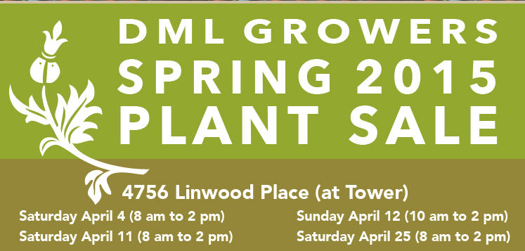 Wood Streets Plant Sale