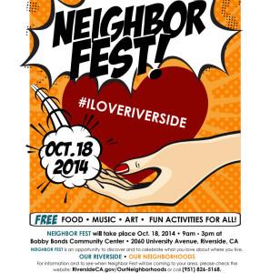 Neighbor Fest Flier