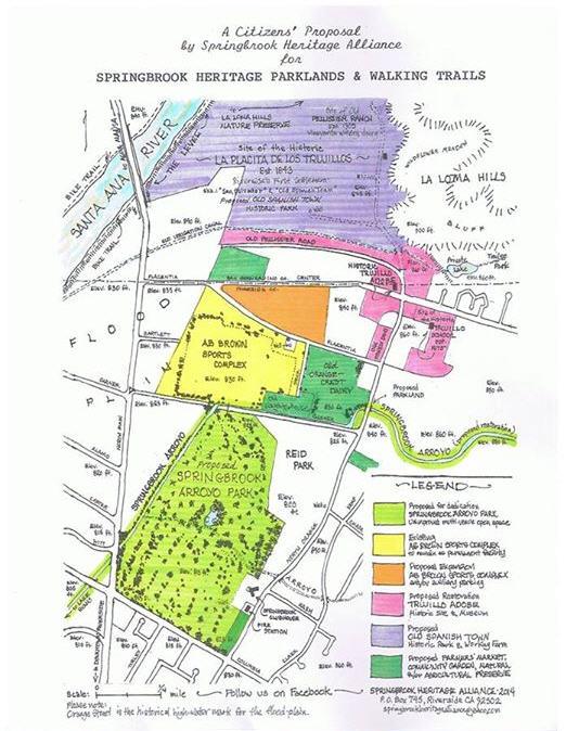 Sringbrook Heritage Alliance Community Vision Map