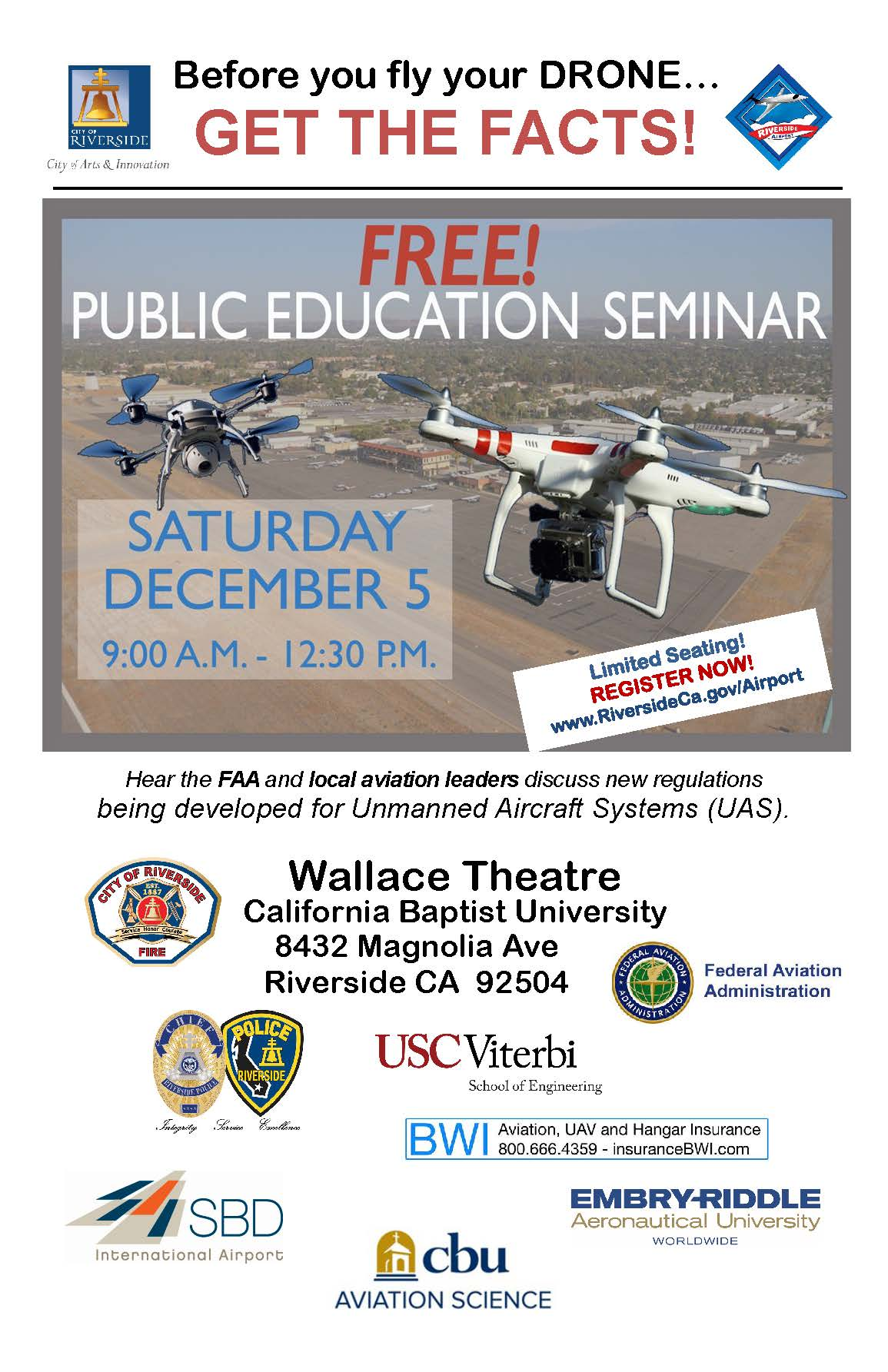 Drone Workshop Flyer