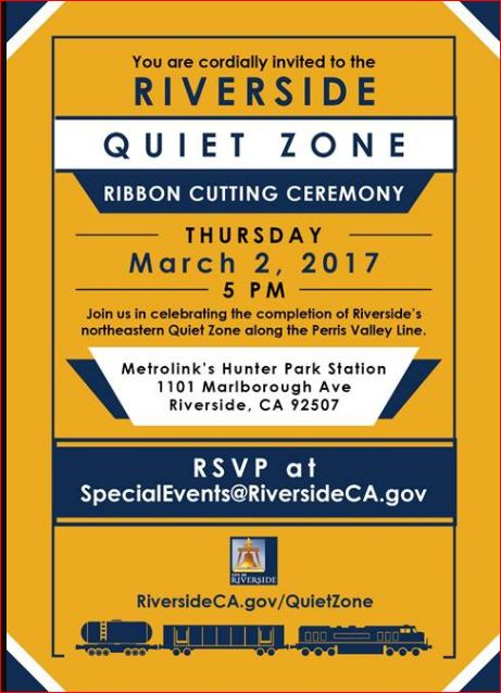 PVL QuietZone Celebration Invite