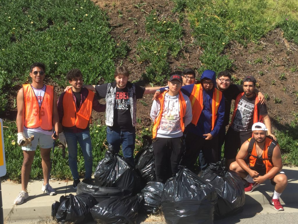 Watkins Dr Gateway Clean Up April 13 2019