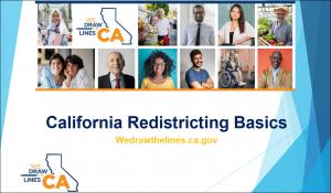 California Redistricting Basics