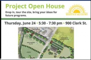 Northside Heritage Meadows Project Launch Notice